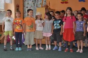 Rozloučení s předškoláky 21.5.2012