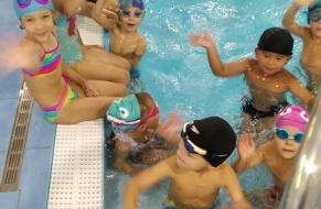 Plavání září