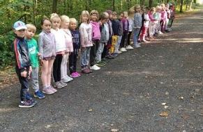 Tělocvik v lese 24.9.